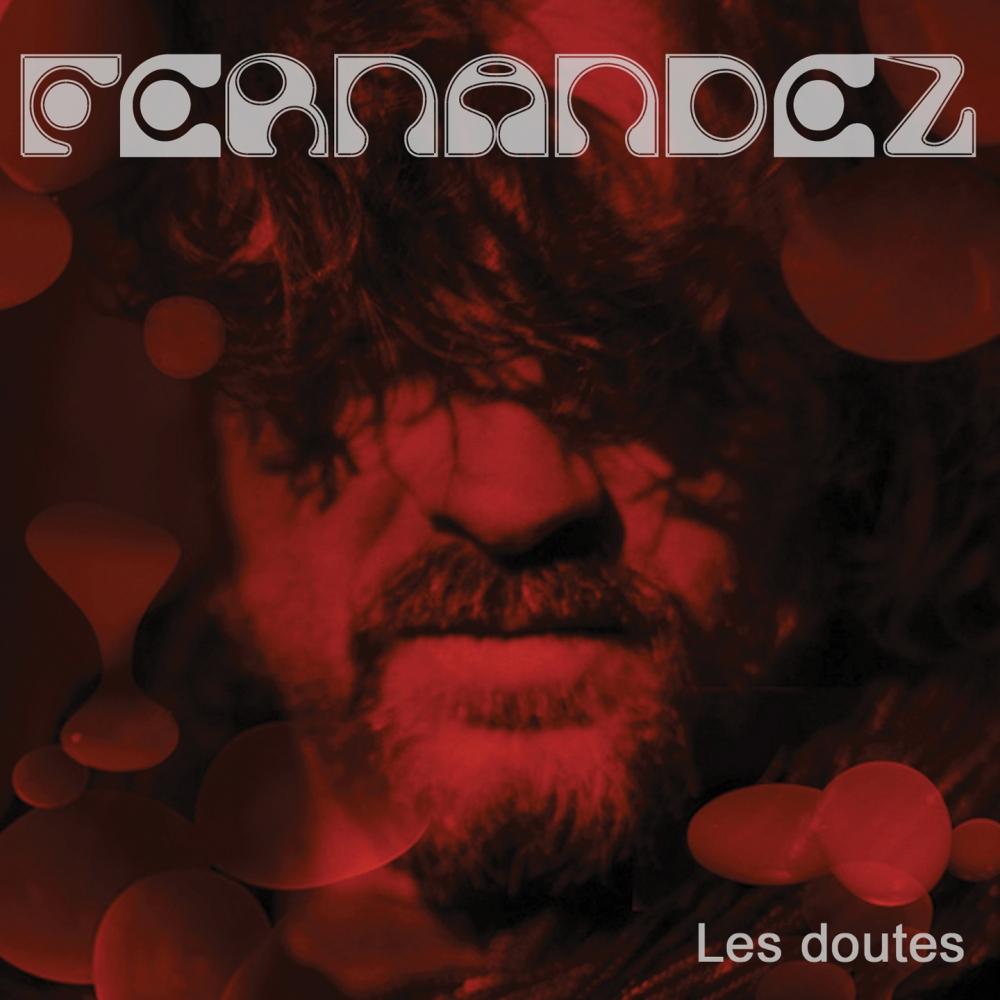 """Pochette de l'album CD """"Les doutes"""" d'André Fernandez"""