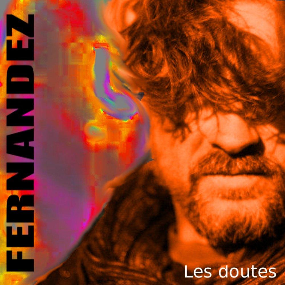 """Pochette de l'album numérique """"Les doutes"""" d'André Fernandez"""