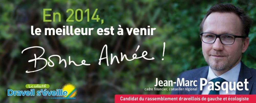 Jean-Marc Pasquet, Voeux 2014, Draveil © Nathalie Tiennot