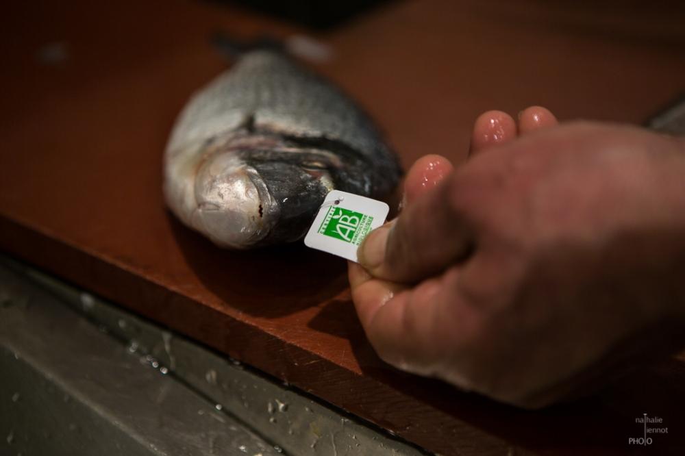 Charly, l'artisan poissonnier © Nathalie Tiennot